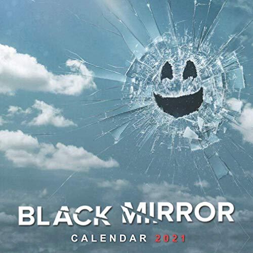 Black Mirror: Mini size 7''x7'' Calendar 2021 with your favourite TV show!!!