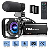 Best HD Video Cameras - Video Camera with Microphone, FHD 1080P 30FPS 24MP Review