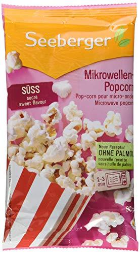 Seeberger Mikrowellen-Popcorn süß, 25er Pack (25 x 90 g)