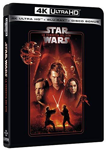 Star Wars 3 La Vendetta Dei Sith Uhd 4K (3 Blu Ray)