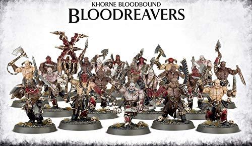 Warhammer 40K Age of Sigmar Khorne Bloodboun Bloodreavers