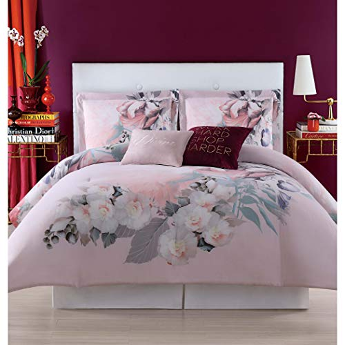 Christian Siriano Dreamy Floral Full/Queen Comforter Set