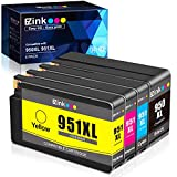 E-Z Ink (TM) Compatible Ink Cartridge Replacement for HP 950XL 951XL 950 XL 951 XL to use with OfficeJet Pro 8610 8600 8615 8620 8625 8100 276dw 251dw(1 Black, 1 Cyan, 1 Magenta, 1 Yellow, 4 Pack