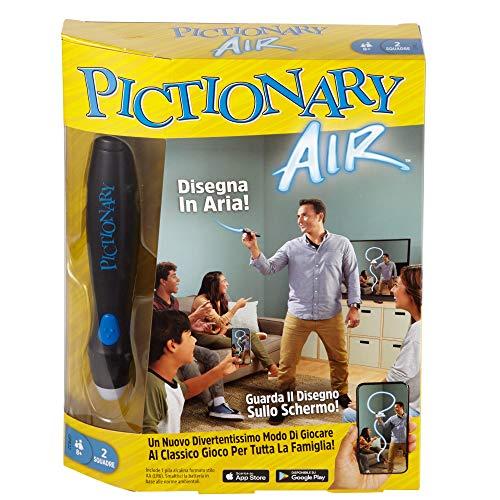Mattel Games Pictionary Air Gioco per Disegnare in Aria, Gioco per Famiglie, 8+Anni, GPR22
