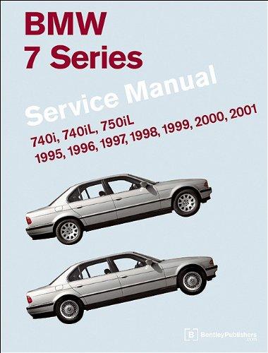BMW 7 Series Service Manual 1995-2001 (E38): 740i, 740iL, 750iL