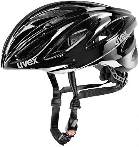 Uvex Boss Race Rennrad Fahrrad Helm schwarz 2020: Größe: 55-60cm