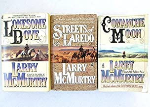 3 Book Lonesome Dove Series Set by Larry McMurtry - Lonesome Dove / Streets of Laredo / Comanche Moon