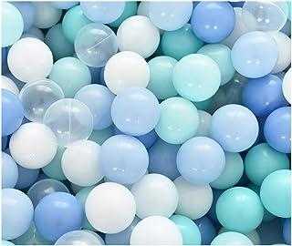 LIUFS Ocean Ball Toy Children's Indoor Soft Ball Amusement Park 200 Colored Balls Bouncy Ball Pet Toy Ball