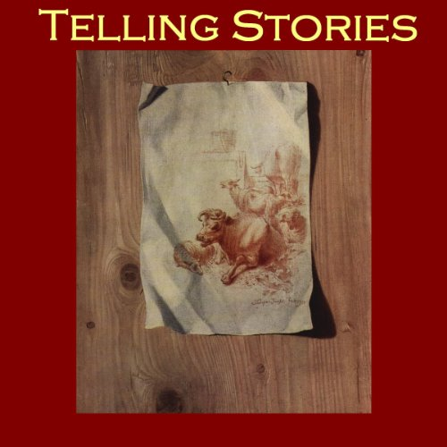 Telling Stories audiobook cover art