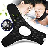 Anti Snoring Chin Strap for Men and Women, Anti Snoring Devices Ajustable Stop Snoring Solution, Snore Stopper Chin Straps Snore Reducing Snore Relief Sleep AIDS for Snoring Sleeping Mouth Breather