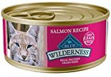 Blue Buffalo Wilderness High Protein Grain Free, Natural Adult Pate Wet Cat...