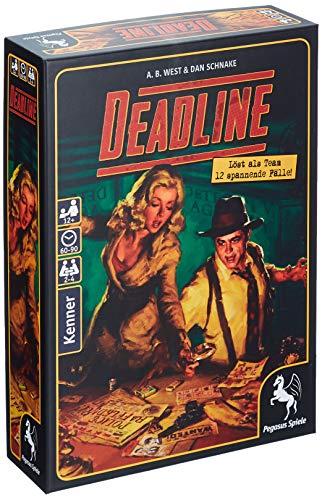 Pegasus Spiele 57400G - Deadline (deutsche Ausgabe)
