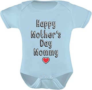 TeeStars - Happy Mother's Day Mommy - Infant Baby One Piece Cute Baby Bodysuit