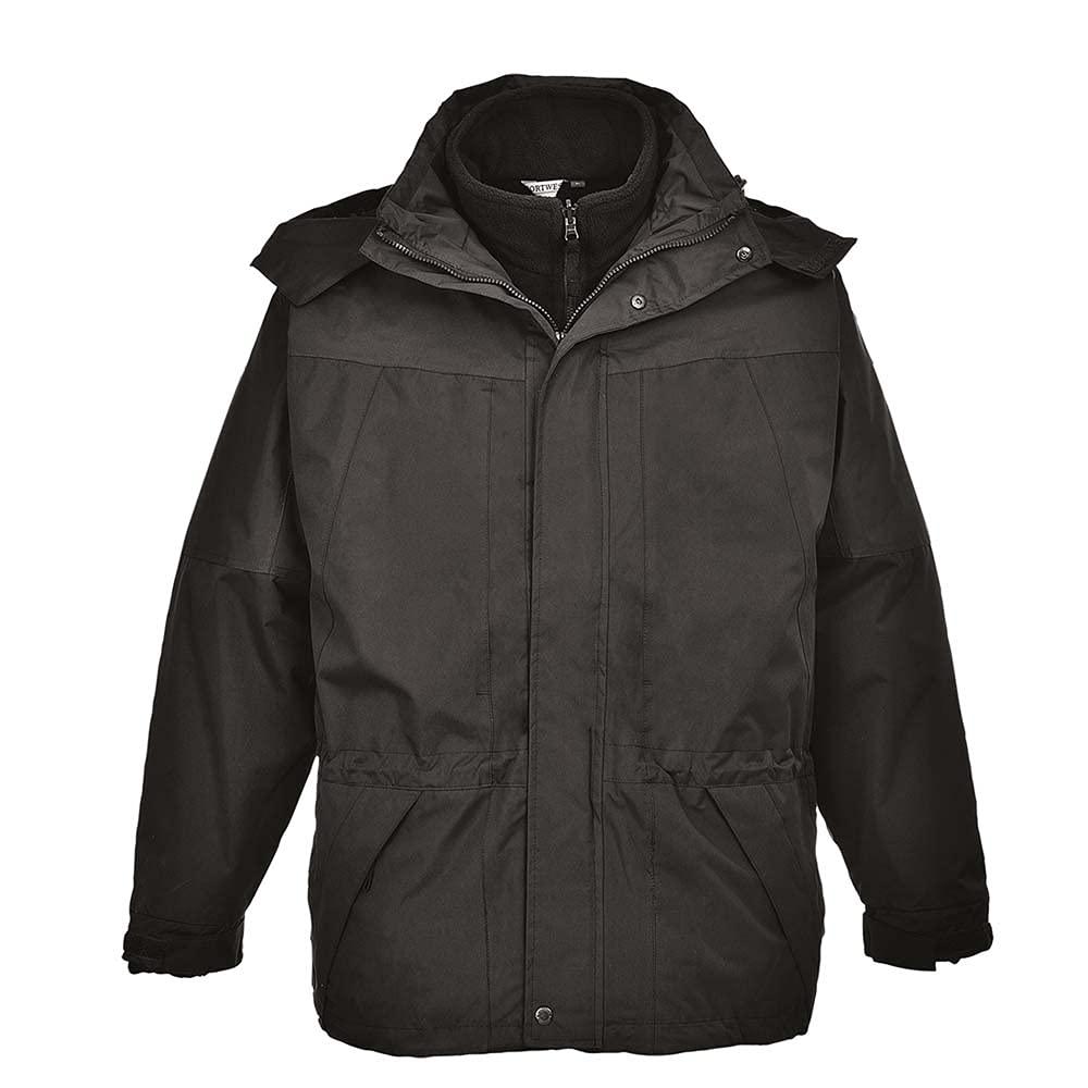 Portwest Workwear Mens Aviemore Mens Jacket Black XL