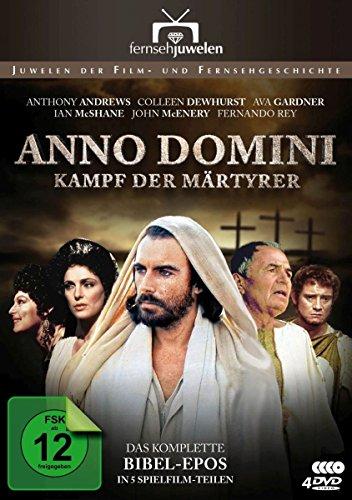 Anno Domini (A.D.) - Kampf der Märtyrer - Das komplette Bibel-Epos in 5 Teilen (Fernsehjuwelen) [5 DVDs]