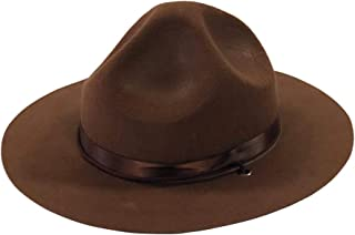 Ranger Hat - Brown Drill Sergeant Military Campaign Hat
