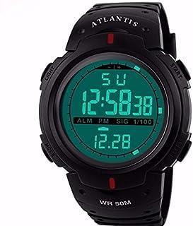 Relogio Digital Atlantis Data Cronometro Numeros Grandes C4 - Frete Grátis
