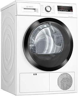 Bosch électroménager WTH85V02FF Sèche-linge frontal pompe à chaleur Série 4 - AutoDry - Pose libre - 8 kg -112l - Blanc