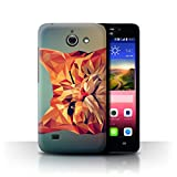 Stuff4 Phone Case for Huawei Ascend Y550 LTE Geometric