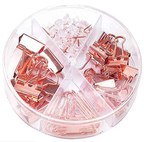 クリップ ダブルクリップ 金属製 ゼムクリップ 輪ゴム 業務用 カラークリップ ピン 書類整理 紙挟み 万能クリップ かわいい ペーパークリップ 使いやすい 収納ケース付き 文房具 オフィス用品 事務用品 ダブルクリップ 金属製 ブッククリップ オフィス