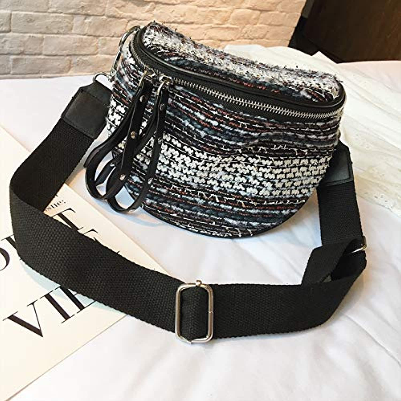 WANGZHAO Satchel Bag Shoulder Bag Female Bag Large Capacity Chest Bag 20X17X10Cm