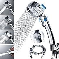 HOKEKI Hight Pressure Chrome Handheld Shower