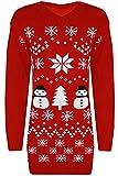 Langer Schneemann Pullover