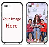 Custom Case for Apple iPhone 7Plus/8Plus Personalized Custom Picture Phone Case -Customizable Slim Soft and Hard tire Shockproof Protective Anti-Scratch Phone Cover Case- Make Your Own Phone Case