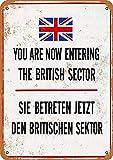 WallAdorn Berliner Mauer Sie betreten jetzt den britischen