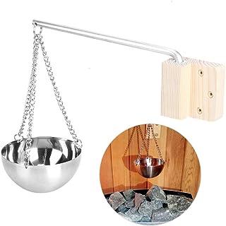 HERCHR Bol de Sauna, Sauna Aroma Bowl, Tasse À Huile Sauna pour Sauna Accessoires