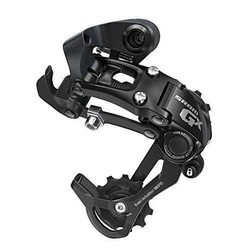 SRAM GX 2x10 Rear Derailleur, Type 2.1 with 10 Speed Performance - Long Cage, Black