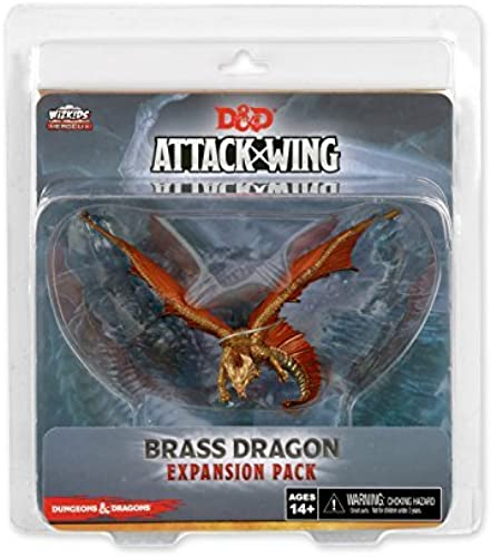 seguro de calidad D&D D&D D&D Attack Wing  Wave Eight - Brass Dragon Expansion Pack by WizKids  toma