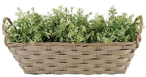 Esschert Design – Panier en Osier Rustique pour Plantes,