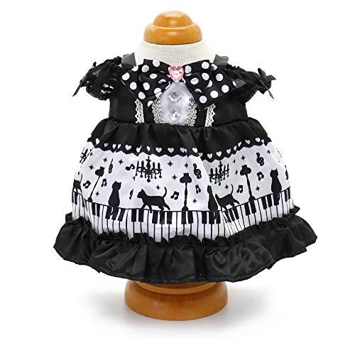 マザーガーデン Mother garden うさももドール 着せ替え人形用服 《黒猫ワンピース》 Mサイズ用 お人形遊び きせかえ ドール 着せ替え服