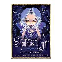 jokeWEN Shadows and Light Tarot オラクルオブシャドウズアンドライトフルイングリッシュパーティーボードゲーム45カードデッキタロット