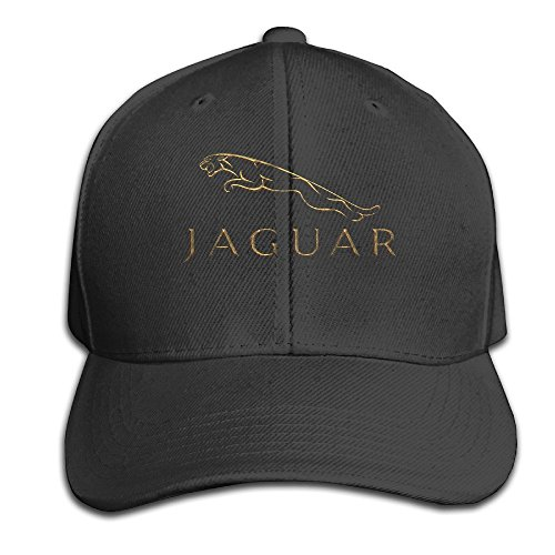 Hittings LowkeyNr1 Jaguar Adjustable Peaked Baseball Caps Hats Duck Tongue Hat for Mens Womens Black