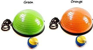 GLJJQMY Yoga Ball Balance Ball Pilates Fitness Massage Thickening Ball Trainer Explosion-Proof Massage Balance Ball (Color : B)