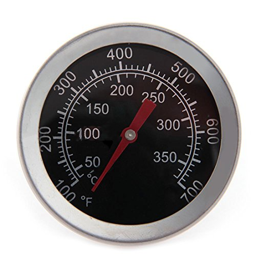 Magic-Elefant Küchenthermometer, Fleischthermometer, Bratenthermometer, Ofenthermometer robust zum Temperatur Messen von Braten, Grill, BBQ und Wasser von 50 °C bis 350 °C aus Metall/Eisen