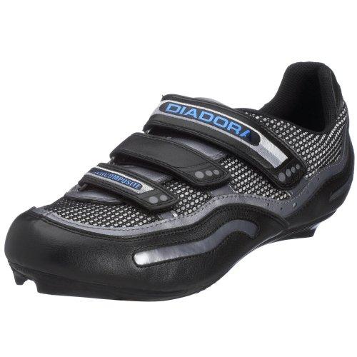 Diadora 139887/320 - Zapatillas de ciclismo para hombre, color negro, talla 47