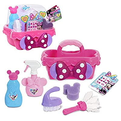 Disney Junior Minnie Mouse Sparkle N' Clean Caddy from Just Play