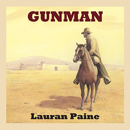 Gunman audiobook cover art