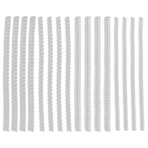 MILISTEN 12 Piezas Ajustador Invisible Del Tamaño Del Anillo para Los Anillos Sueltos Anillo Transparente Sizer Redimensionador de La Joyería de Plástico para Las Mujeres Y Los Hombres