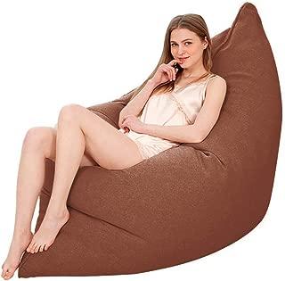 ビーズクッション 人をダメにするソファ 座椅子 極小ビーズ使用 カバー取り外し洗濯可能 座り心地いい 低反発 豆袋クッショ 弾力性 耐久性 100*140