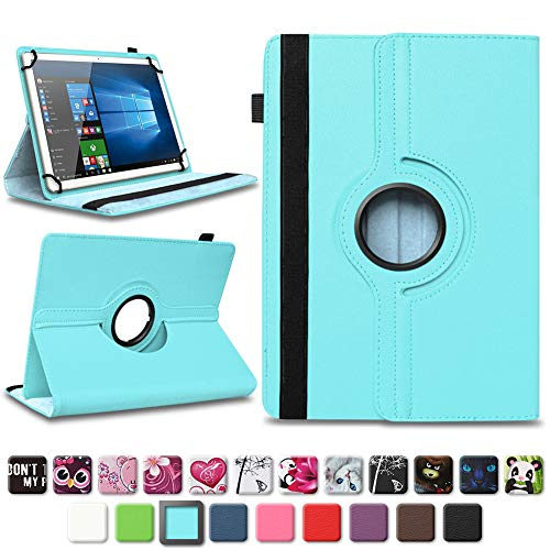 NAmobile Tasche für Vodafone Tab Prime 6/7 Tablet Hülle Schutzhülle Case Farbwahl Cover, Farben:Türkis