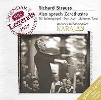 Strauss: Also sprach Zarathustra, etc / Herbert von Karajan, Vienna Philharmonic Orchestra