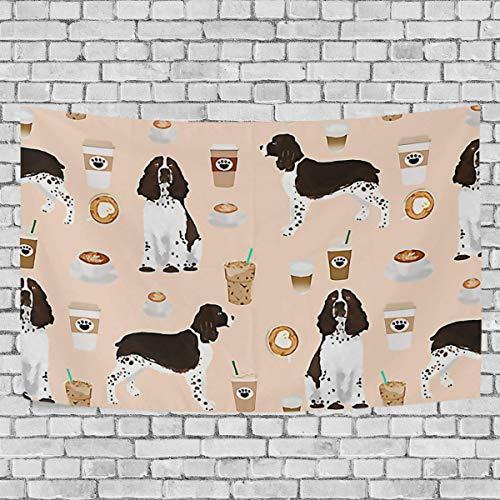 N / A Tapices Tapices de Pared Bebida para Perros Manta de Alfombra Grande Decoración del hogar para el Dormitorio Cubiertas de Cama