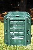 Il Campo 57486 CDF06582 Compostiera Compogreen, Verde, 0.6x0.8x0.3 cm...