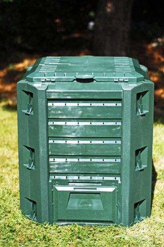 Best Price Prosper Plast Compogreen Composter, 71.9 x 71.9 x 82.6 cm, Green, 71.9x71.9x82.6 cm