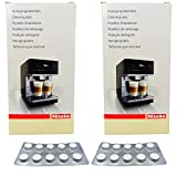 Miele 2er Pack Reinigungstabletten Kaffee-/Espressomaschinen 10x2g