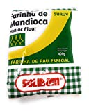 Harina de Mandioca (Yuca) 400gr - 100% Natural y Sin Gluten - Vegan - Farinha de Mandioca de Brazil